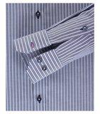 Venti Slim-Fit Mouwlengte 7 Classic Stripe_