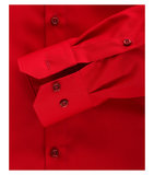 Venti Slim-Fit Mouwlengte 69 Red Fury_