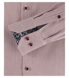 Venti Slim-Fit Mouwlengte 7 Red Inca stripes_