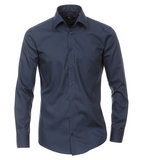 Venti Slim-Fit Mouwlengte 69 Dark Blue_
