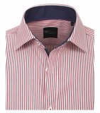 Venti Slim-Fit Regular Striped Red_