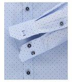 Venti Slim-Fit Mouwlengte 7 Blue Dots_