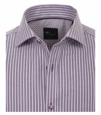 Venti Slim-Fit Limited-Edition Purple Stripe