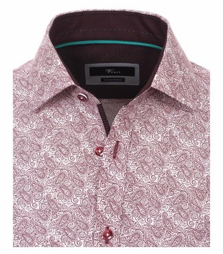 Venti Slim-Fit Limited-Edition Red Paisley