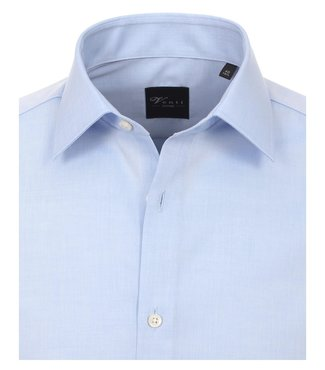Venti Slim-Fit Mouwlengte 7 Light Blue