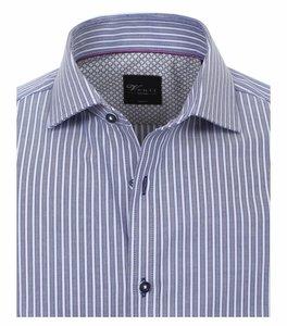 Venti Slim-Fit Mouwlengte 7 Classic Stripe