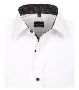 Venti Slim-Fit Mouwlengte 7 White Black Design