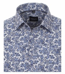 Venti Slim-Fit Mouwlengte 7 Limited Edition Dutch Paisley