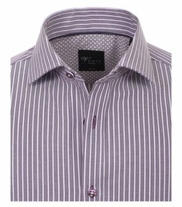 Venti Slim-Fit Limited-Edition Purple Stripe